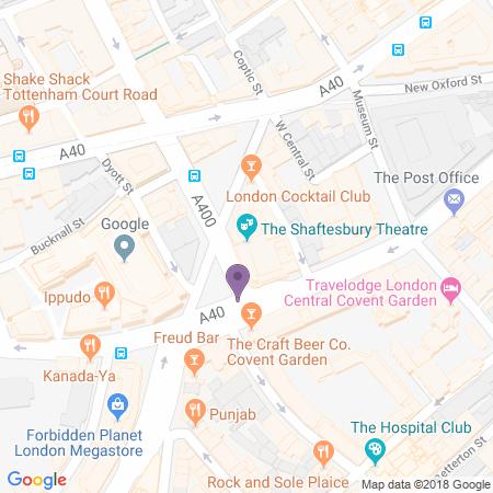 Shaftesbury Theatre Standort