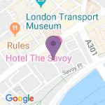 Savoy Theatre - Theater Adresse