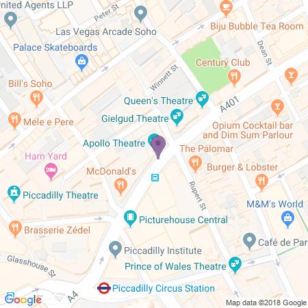 Apollo Theatre Standort