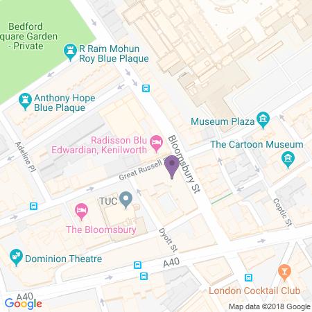 Radisson Blu Edwardian Standort