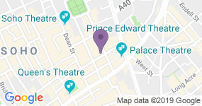 Prince Edward Theatre - Theater Adresse